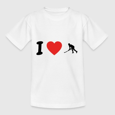 I love hockey hockey png - Teenage T-Shirt