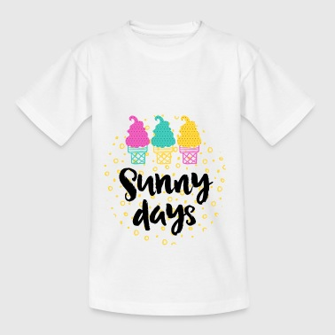 Sunny Sunny Days - Teenager T-shirt