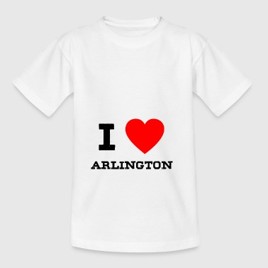 i love Arlington - Teenager T-Shirt