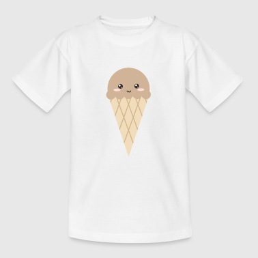 Kawaii Eiscreme - Teenager T-Shirt