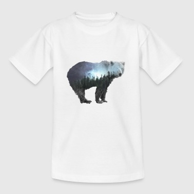 Bear bear gift nature nature lover mountains forest - Teenage T-Shirt