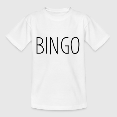 bingo - Teenager T-shirt