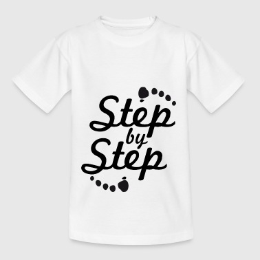 step by step 2 - T-shirt Ado