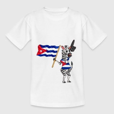 Cuban zebra - Teenage T-Shirt