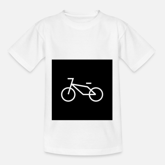 Bike Messenger T-Shirts - Bike - Bike - Teenage T-Shirt white