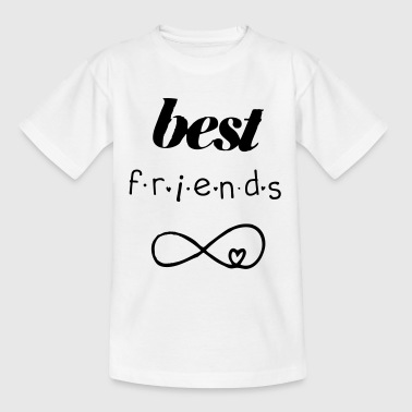 Best friends forever - Teenager T-Shirt