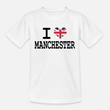 Manchester i love Manchester - Teenage T-Shirt
