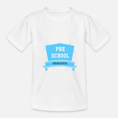 Pre School Graduation Graduation Pre School Design Gift - Teenage T-Shirt