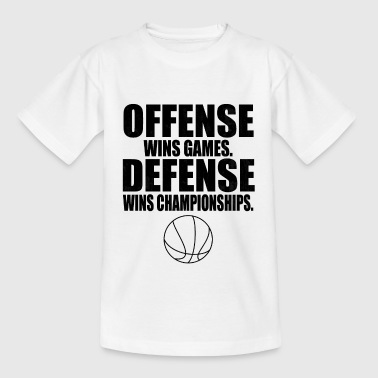 Basketball Spruch - Teenager T-Shirt