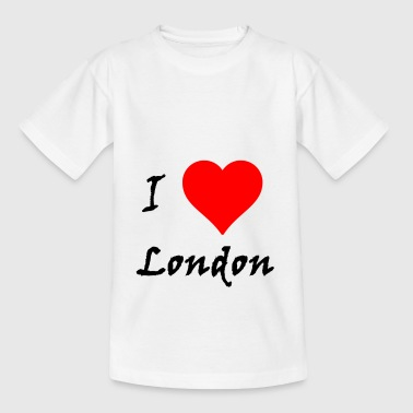 I love London / I love / Souvenir - T-shirt Ado