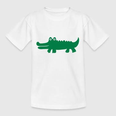 2541614 14641926 krokodil - Teenager T-Shirt