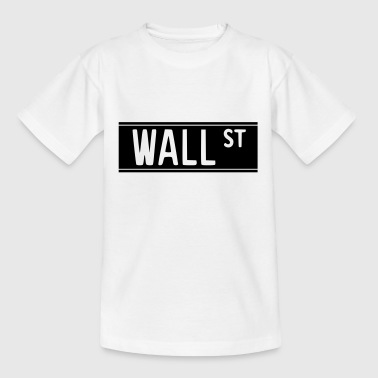 Wall Street Occupé Wall Street 1 - T-shirt Ado