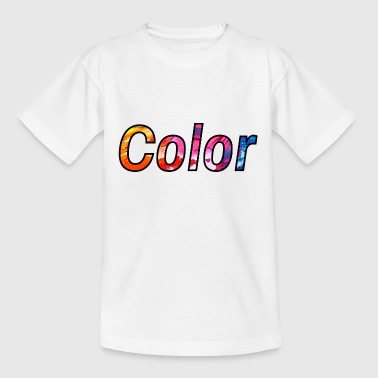 colour - Teenage T-Shirt