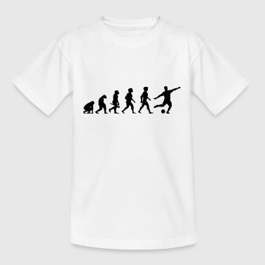 Evolution Football Joueur de Football - T-shirt Ado