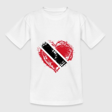 HOME ROOTS COUNTRY LOVE POISON Trinidad Tobago - Teenage T-Shirt