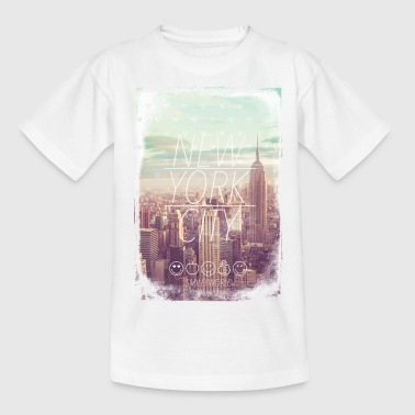 Smileyworld 'New York City' - Teenager T-Shirt