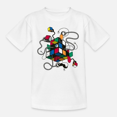 Cube Rubik's Cube Illustration - T-shirt Ado