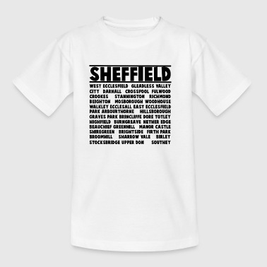 Sheffield City - Teenager T-shirt