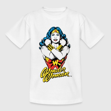 Wonder Woman Power Tonåring T-Shirt - T-shirt tonåring
