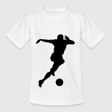 footballer - Teenage T-Shirt