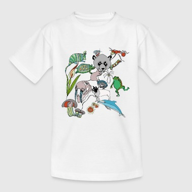 Net of Nature - Teenage T-Shirt