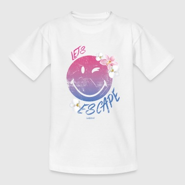 Smiley SmileyWorld 'Let's Escape' teenager t-shirt - Teenager T-shirt