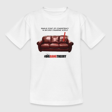 The Big Bang Theory Sheldon's Couch T-skjorte for  - T-skjorte for tenåringer