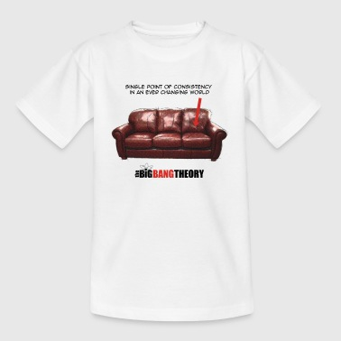 The Big Bang Theory Sheldon's Couch teenager T-s - Teenager T-shirt