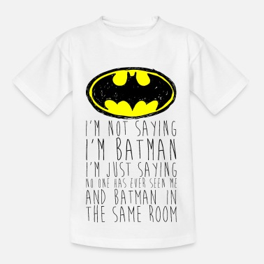 Lustige DC Comics I'm Batman Lustiger Spruch - Teenager T-Shirt