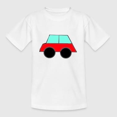 Rotes Auto - Teenager T-Shirt