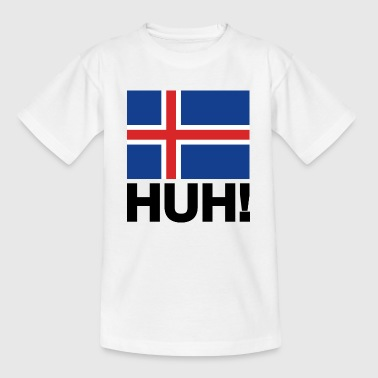 Iceland Football WM Iceland Iceland Team HUH! Football fan fans - Teenage T-Shirt