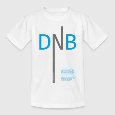 Drum and Bass DNB - Teenage T-Shirt