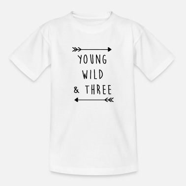 Birthday Child Birthday child Three 3 birthday child gift - Teenage T-Shirt