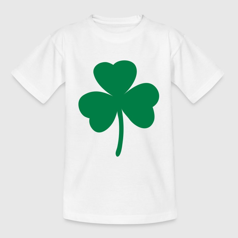 Shamrock - St. Patrick's Day - Teenager T-shirt