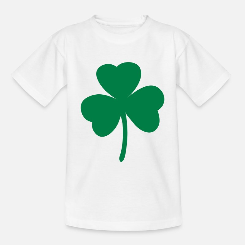 Goblin T-Shirts - Shamrock - St. Patrick's Day - Teenager T-shirt wit