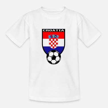 Maillot De Football Croatie Maillot de fan de foot Croatie 2016 - T-shirt Ado