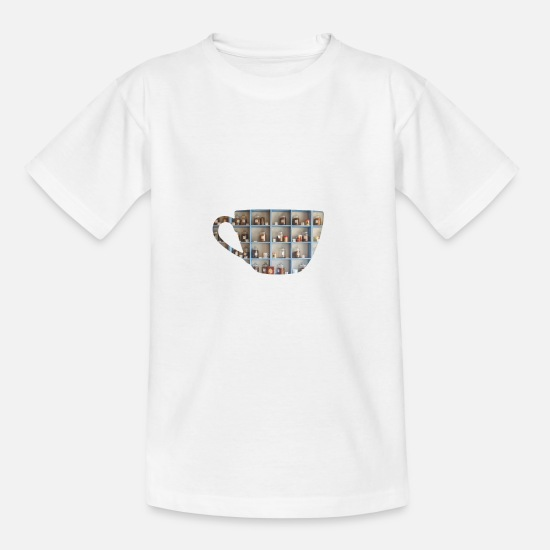 Tea T-Shirts - Tea - Teenage T-Shirt white