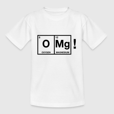 OMG periodic system Long Sleeve Shirts - Teenage T-shirt