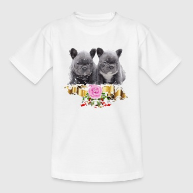 Franse baby's Bulldog - Teenager T-shirt