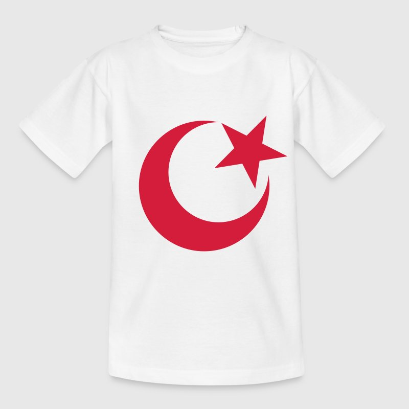 ISLAM, half-moon, Christian, church, Turkey, mosque, cross, Muezzin, minaret, flag, flag, David star, Jew, God, Israel, synagogue, Aaron, hexadecimal gram, religion, Amen, benediction, Imam  - Teenage T-shirt