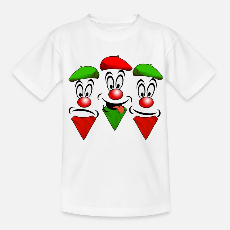Fêtes T-shirts - Basque design - T-shirt Ado blanc