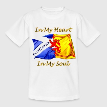Heart and Soul Scotland - Teenage T-Shirt