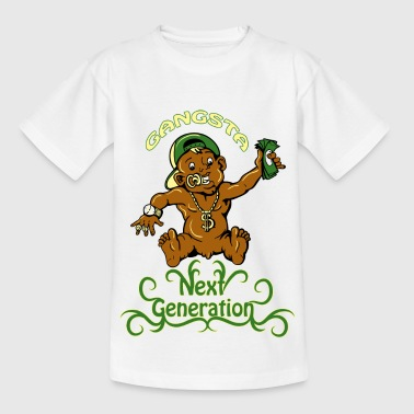 gangsta next generation - T-shirt tonåring
