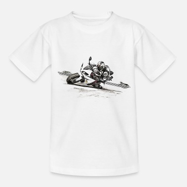 Classic Motorcycle motorcycle - Teenage T-Shirt