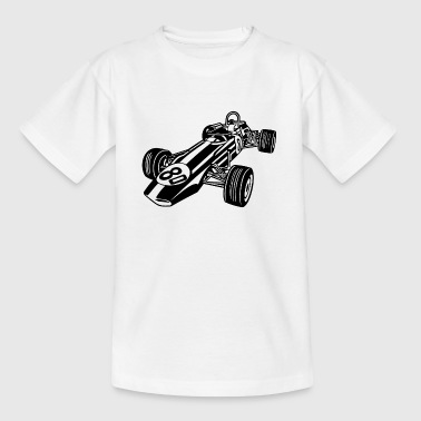 Race Car / Race Car 02_black - Teenage T-Shirt