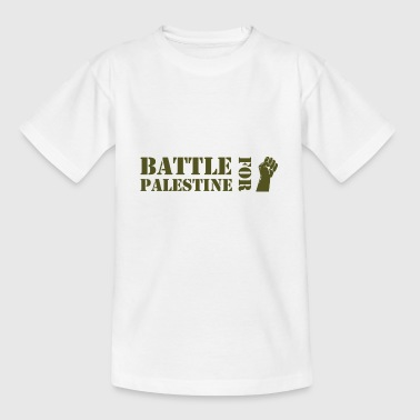Battle for Palestine - Teenage T-shirt