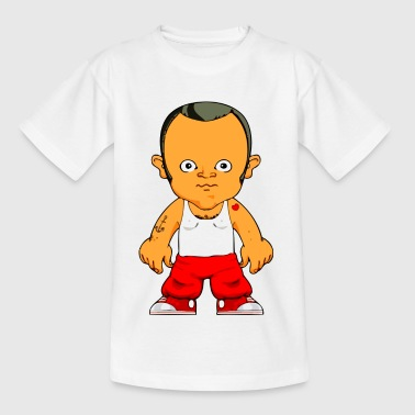 Comic Figur kleiner Gangster - Teenager T-Shirt
