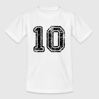 10 Jaar 10 - Teenager T-shirt