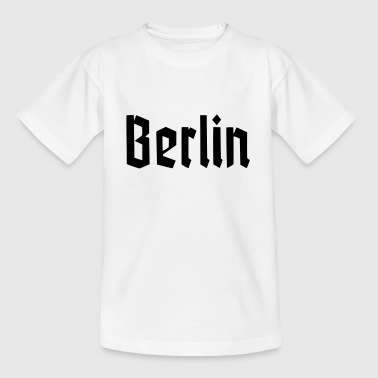BERLIN Fracture Font - Teenage T-Shirt