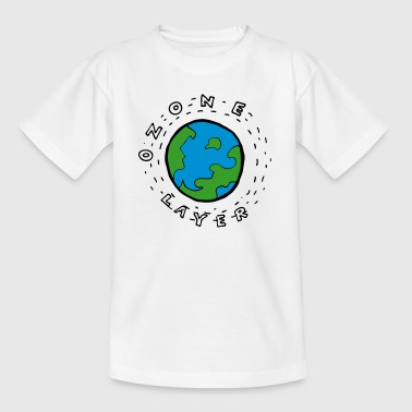 Earth's Ozone Layer Drawing - Teenage T-shirt
